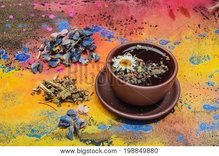 Still Life- Herbal And Floral Tea