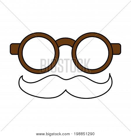 groucho marx glasses funny or joke item icon image vector illustration design