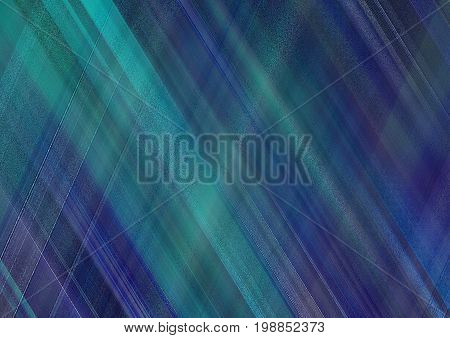 Abstract background with pattern of bright blue and cyan skew strips. Stylish decorated, textile textured template for greetings cards, flyers, invitations, leaflets, posters, web pages, brochure cover, wallpaper