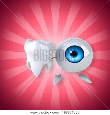 Eye - 3D Illustration