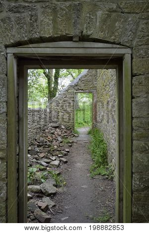 Old Doorway, Laundry Cottages