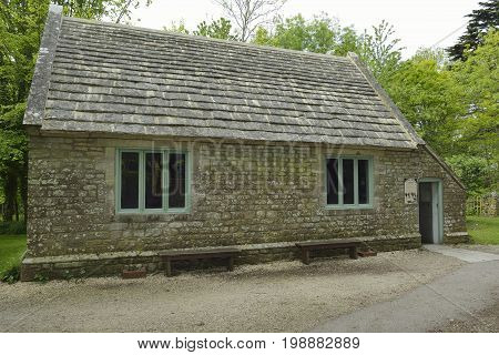 Restored School Room, Tyneham