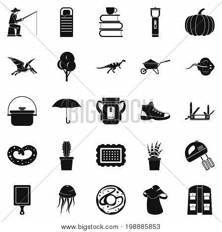Acquisition of knowledge icons set. Simple set of 25 acquisition of knowledge vector icons for web isolated on white background