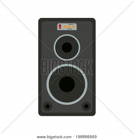 stage speaker icon image vector illustration design