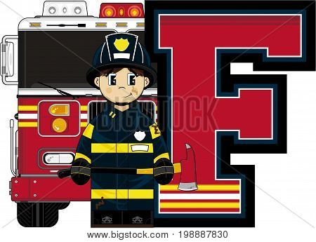 F Is For Fireman 8.eps