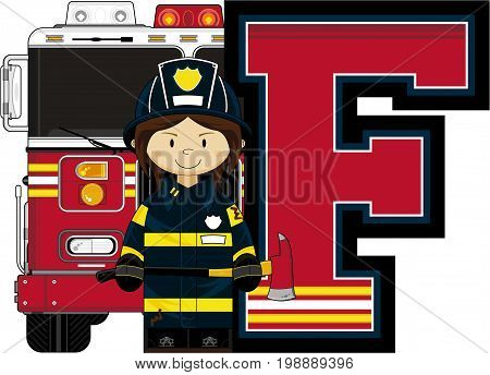 F Is For Fireman 9.eps