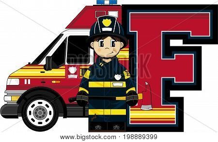 F Is For Fireman 15.eps
