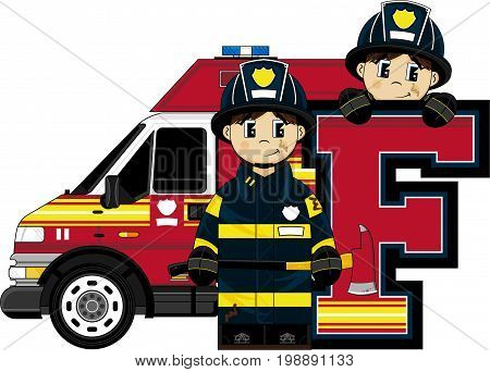 F Is For Fireman 45.eps