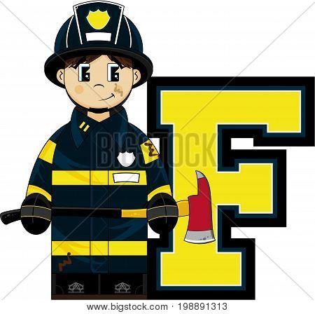 F Is For Fireman.eps