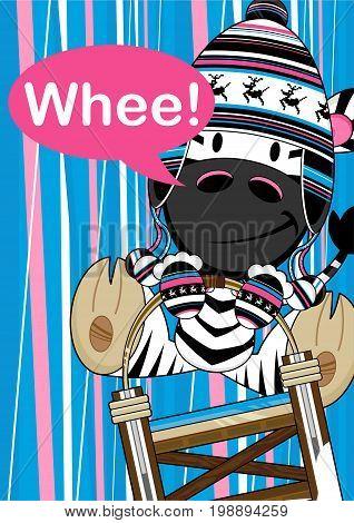 Cartoon Zebra 17