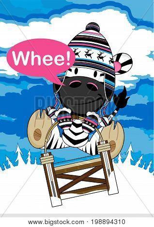 Cartoon Zebra 22