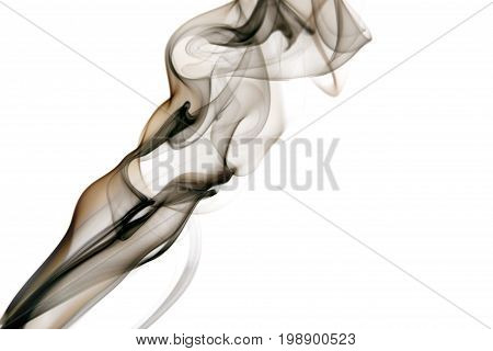 Smoke is a collection of airborne solid and liquid particulates and gases emitted when a material undergoes combustion or pyrolysis