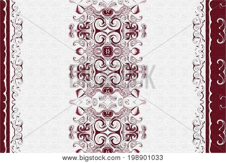 oriental patterns and ornaments.  oriental design and oriental painting.