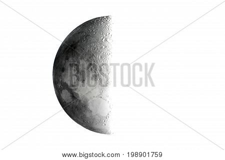 Half Moon background / Half Moon refers to the two lunar phases commonly known as first quarter and last quarter.
