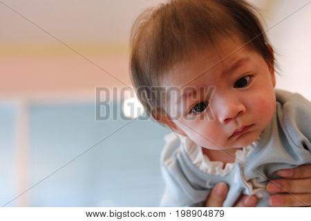 cute baby boy adorable innocence child portrait image