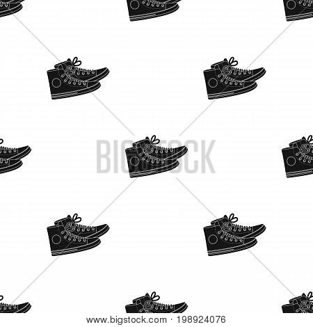 icon in black design isolated on white background. Hipster style symbol stock vector illustration.