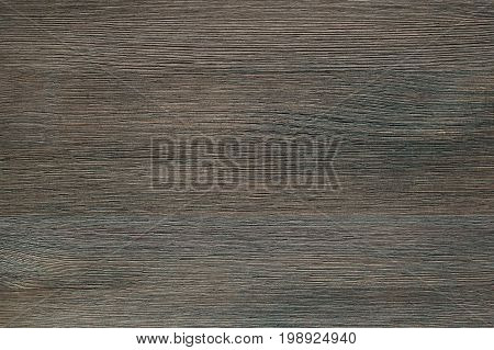 Natural color wooden board surface. Textured background from mocha wood planks. Horizontal grain.