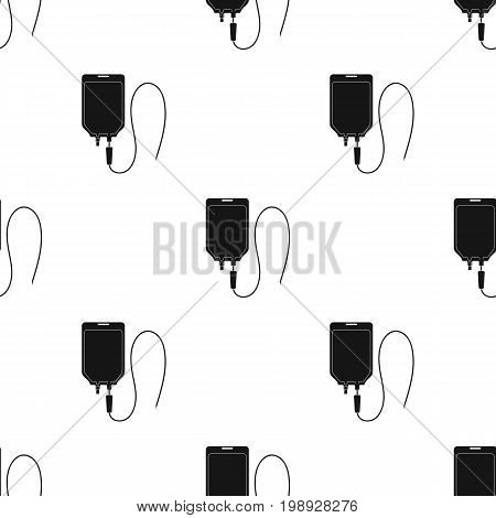 Medicine package.Medicine single icon in black style vector symbol stock illustration .