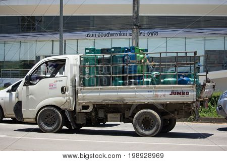 Gas Truck Of Unique Ptt Company.