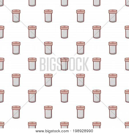 Salt shaker pattern in cartoon style. Seamless pattern vector illustration