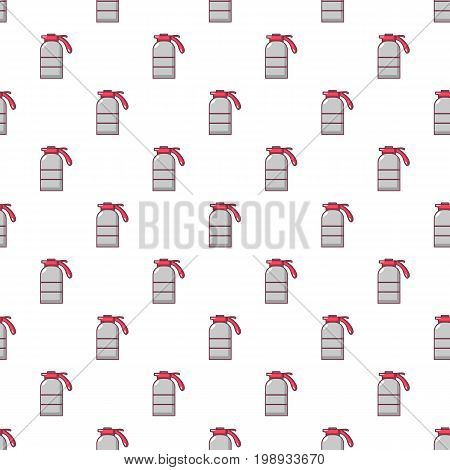 Sprayer container pattern in cartoon style. Seamless pattern vector illustration