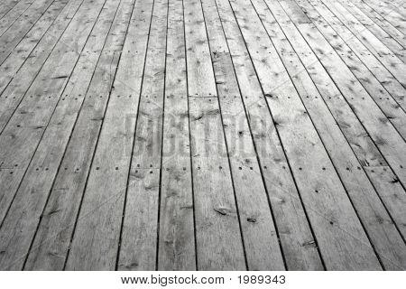 Knotty Wooden Floor