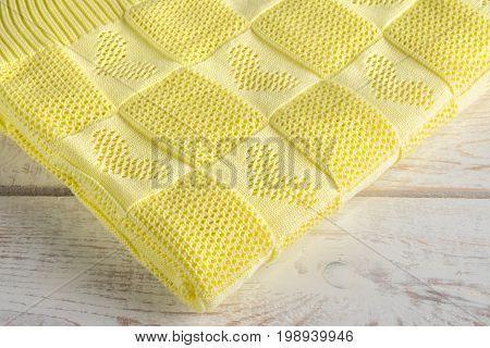 warm beautiful and a new handmade blanket