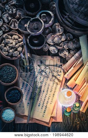 Looking For Umami Taste In Vintage Research Lab