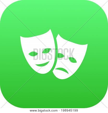Isolated Masks Icon Symbol On Clean Background