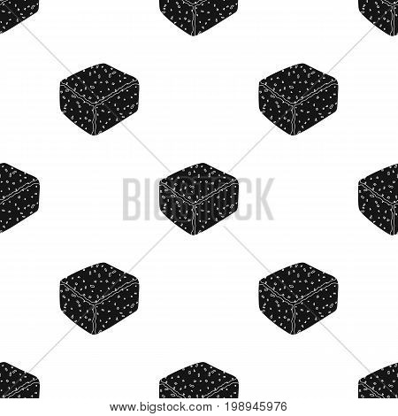 Colby gack.Different kinds of cheese single icon in black style vector symbol stock illustration .