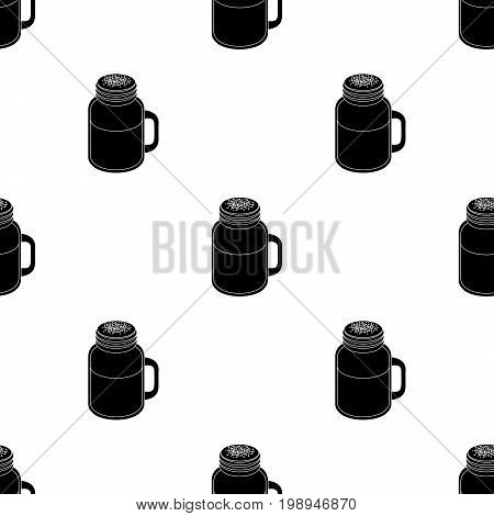 milk shake.Different types of coffee single icon in black style vector symbol stock illustration .