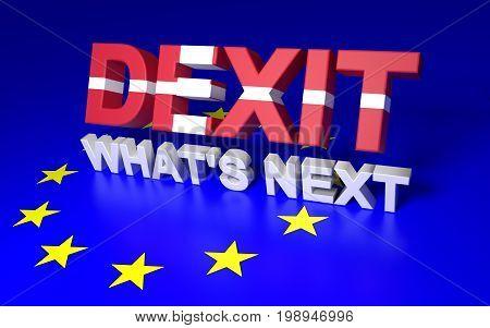 Dexit. Whats Next.