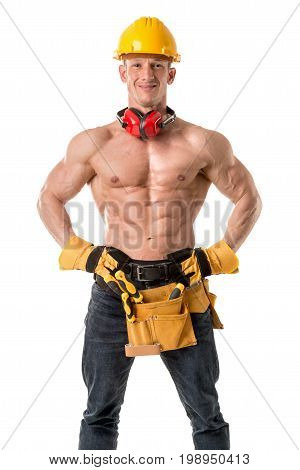 Strong Construction Worker