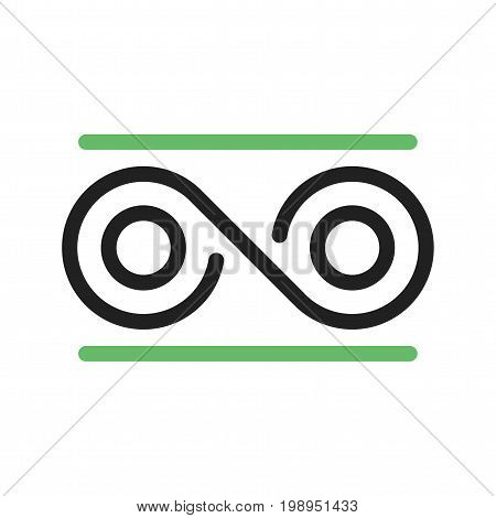 Transformation, data, digital icon vector image. Can also be used for Data Analytics. Suitable for use on web apps, mobile apps and print media.