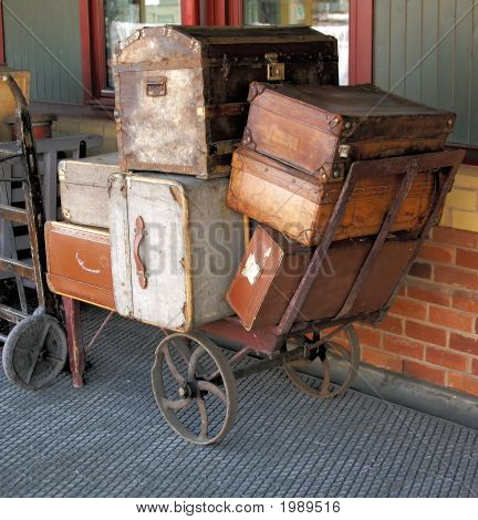 Handcart And Cases