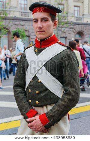 Member Of The Military Historical Reconstruction - Soldiers Of The Russian Empire