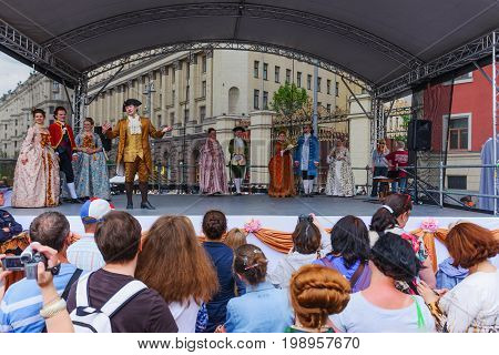 International Festival-  Plays About Life Of The Moscow Nobility