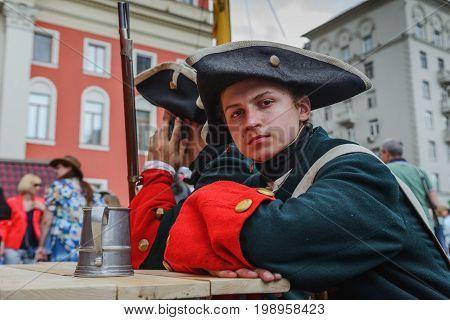 International Festival- Reenactors Infantry Regiment