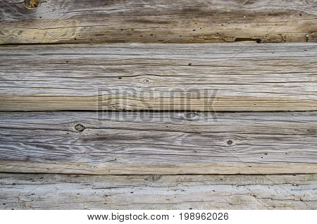 Close-up old wood texture with natural patterns.