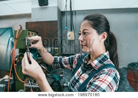 Smiling Professional Factory Female Manager