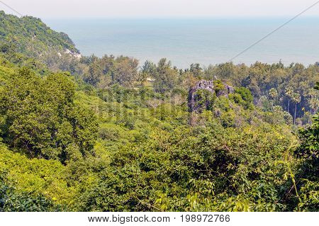 Khao Sam Roi Yot National Park In Kui Buri District, Prachuap Khiri Khan Province, Thailand