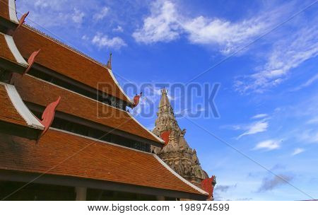 Wat Phra That Luang Lampang, the original art of Lanna Temple.