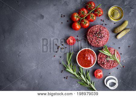 Meat Patties With Seasonings
