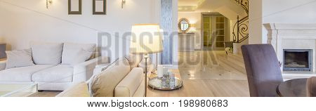 House With Luxurious Conditions