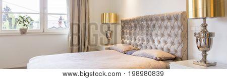 Golden Details In Home Interior