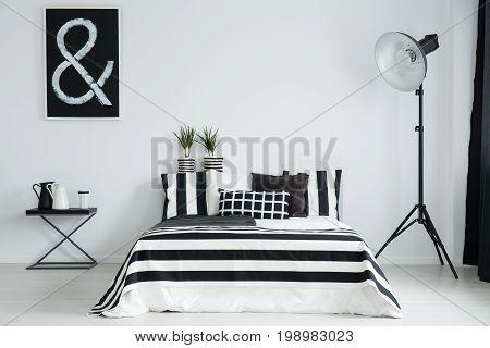 White And Black Milk Jug