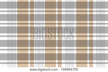 Vector illustration of an abstract background of brown stripes and black lines that intersect with each other in the shape of cells on a white background.