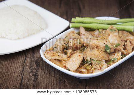 Thai dish called