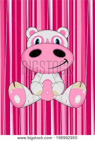 Cartoon Hippo 9