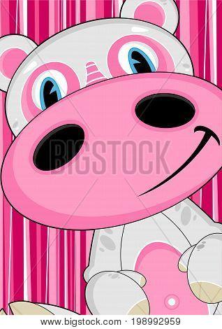 Cartoon Hippo 10